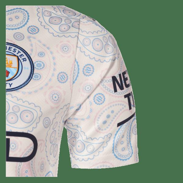 Manchester City 3rd Jersey Shoulder