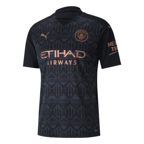 Manchester City Away Jersey Front