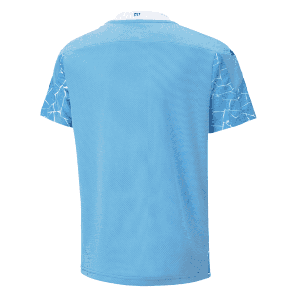Manchester City Home Jersey Back