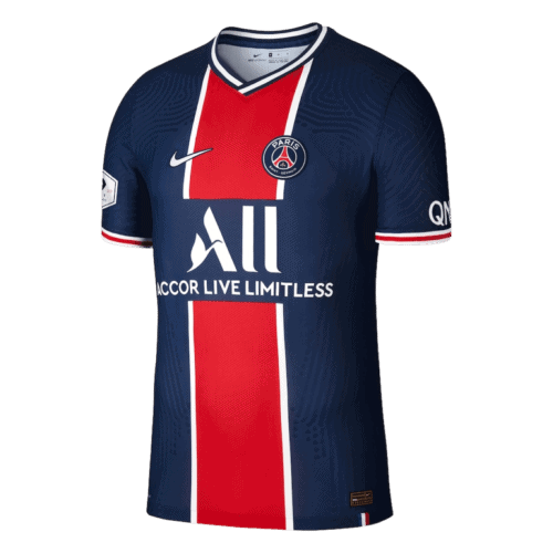 PSG Home Jersey Front